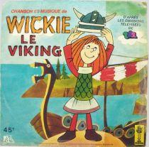 Wickie le Viking - Disque 45T Chanson du générique - Ades 1979