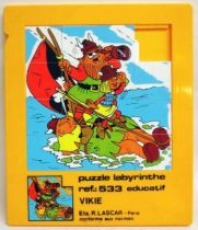 Wickie the Viking - Plastic slide puzzle game