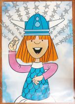 Wickie the Viking - Poster n°1 Wickie - Comer Lisboa 1976
