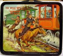 Wild Wild West - Lunch Box + Thermos 1969