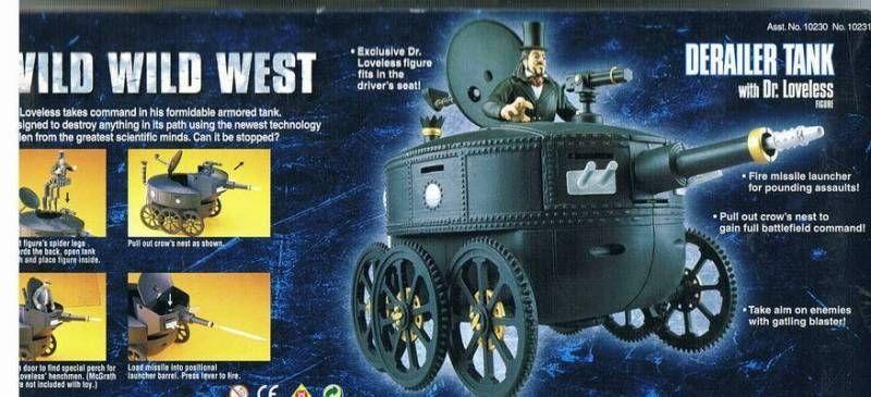 wild wild west tank