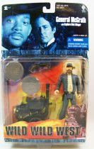Wild Wild West - X-toys - Général McGrath avec Lanceur de Disques Tranchants