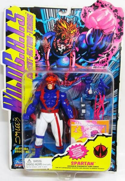 WildC.A.T.S. - Spartan - Playmates (mint on card)