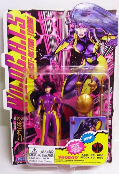 WildC.A.T.S. - Voodoo - Playmates (mint on card)