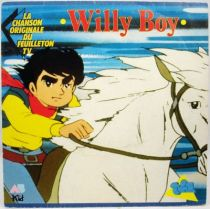 Willy Boy - Disque 45Tours - Bande Originale du feuilleton Tv - AB Kids 1989