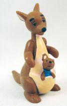 Winnie l\'ourson - Figurine pvc Bully - Maman Gourou & Petit Gourou