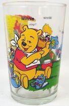 Winnie l\'ourson - Verre à moutarde - Winnie, Bourriquet, Tigrou, Coco Lapin et le miel