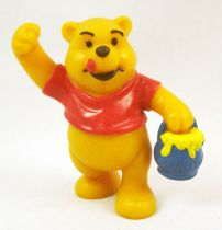 Winnie the Pooh - Bully pvc figure - Winnie with honey pot