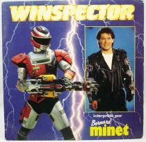 Winspector - Mini-LP Record - Original French TV series Soundtrack - AB Kid records 1991