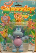 Wuzzles - Hoppopotamus Mint on Card Action Figure