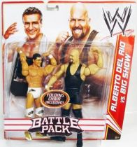 WWE Mattel - Alberto Del Rio & Big Show (Battle Pack)