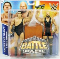 WWE Mattel - Andr� The Giant & Big Show (Battle Pack)