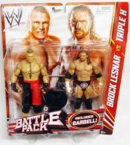 WWE Mattel - Brock Lesnar & Triple H (Battle Pack)