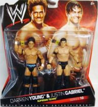 WWE Mattel - Darren Young & Justin Gabriel : The Nexus (Double Pack Series 10)