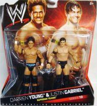WWE Mattel - Darren Young & Justin Gabriel : The Nexus (Double Pack Series 10)