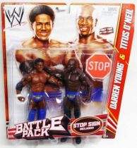 WWE Mattel - Darren Young & Titus O\'Neil : The Prime Time Players (Battle Pack)