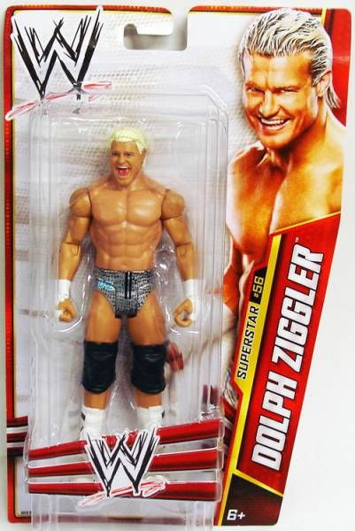 WWE Mattel - Dolph Ziggler (2013 Basic Superstar #56)
