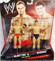 WWE Mattel - Drew McIntyre & Dashing Cody Rhodes (Double Pack Series 11)