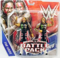 WWE Mattel - Jimmy Uso & Jey Uso : The Usos (Battle Pack Series 44)
