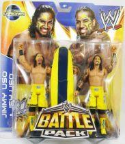 WWE Mattel - Jimmy Uso & Jey Uso (Battle Pack)