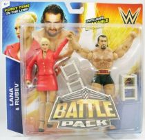 WWE Mattel - Lana & Rusev (Battle Pack)