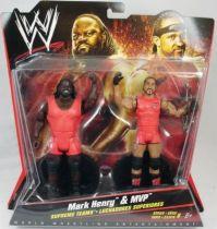 WWE Mattel - Mark Henry & MVP (Double Pack Series 6)