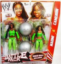 WWE Mattel - Naomi & Cameron : The Funkadactyls (Battle Pack)
