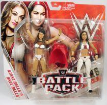 WWE Mattel - Nikki Bella & Brie Bella (Battle Pack Series 43)