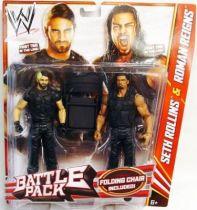 WWE Mattel - Seth Rollins & Roman Reigns : The Shield (Battle Pack)