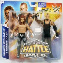 WWE Mattel - Shawn Michaels & Undertaker (Battle Pack)