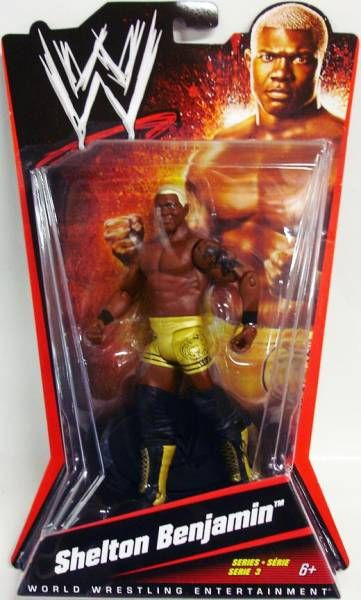 WWE Mattel - Shelton Benjamin (Basic Series 3)