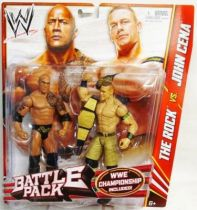 WWE Mattel - The Rock & John Cena (Battle Pack)