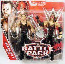 WWE Mattel - Undertaker & Kane (Battle Pack Series 43)