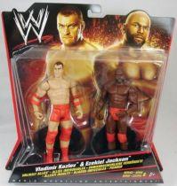 WWE Mattel - Vladimir Kozlov & Ezekiel Jackson (Double Pack Series 6)