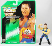 WWF Hasbro - 1-2-3 Kid (loose with USA cardback)