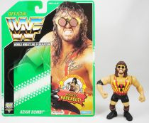 WWF Hasbro - Adam Bomb (loose with USA cardback)