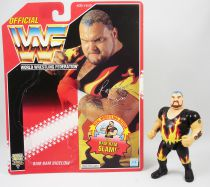 WWF Hasbro - Bam Bam Bigelow (loose with USA cardback)