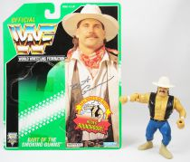 WWF Hasbro - Bart Gunn of the Smoking Gunns (loose with USA cardback)