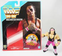 WWF Hasbro - Bret Hitman Hart v.1 (loose with USA cardback)