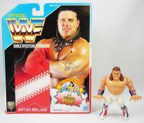 WWF Hasbro - British Bulldog (loose with USA cardback)