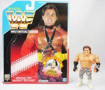 WWF Hasbro - Brutus The Barber Beefcake v.2 (loose with USA cardback)