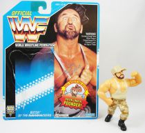 WWF Hasbro - Bushwhackers Butch (loose avec carte USA)
