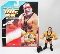 WWF Hasbro - Demolition Ax (loose with USA cardback)
