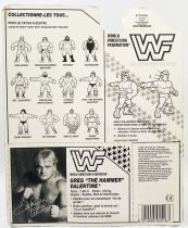 WWF Hasbro - Greg The Hammer Valentine (France card)