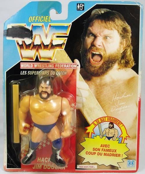 WWF Hasbro - Hacksaw Jim Duggan v.1 (France card)
