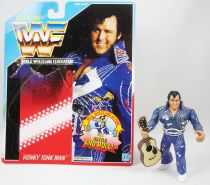 WWF Hasbro - Honky Tonk Man (loose with USA cardback)