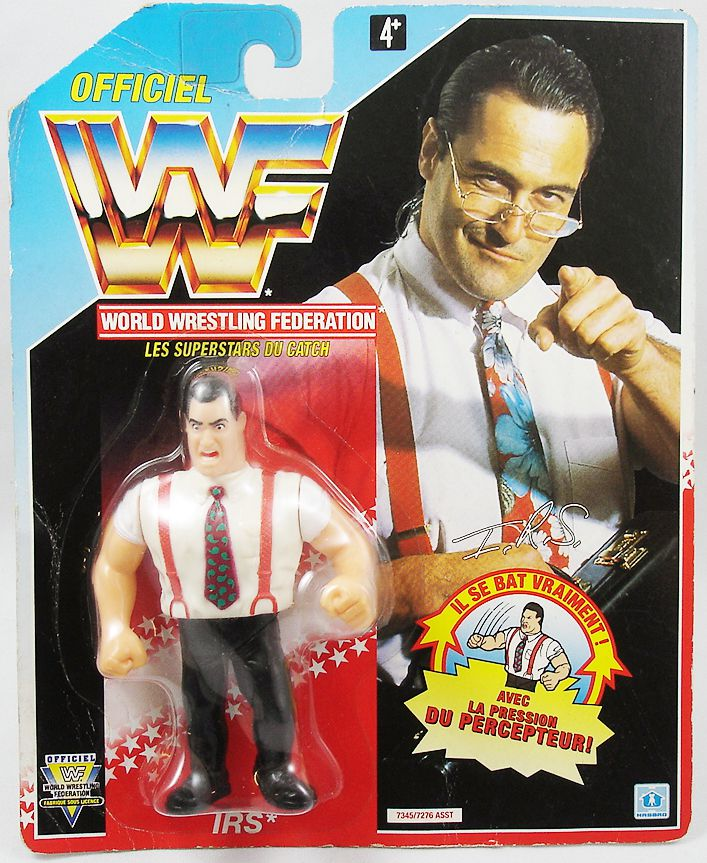 WWF Hasbro - IRS Irwin R. Schyster (France card)