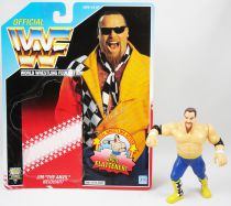 WWF Hasbro - Jim The Anvil Neidhart (loose avec carte USA)