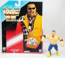 WWF Hasbro - Jim The Anvil Neidhart (loose with USA cardback)
