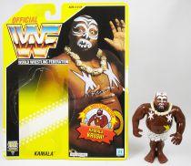 WWF Hasbro - Kamala (loose avec carte USA)